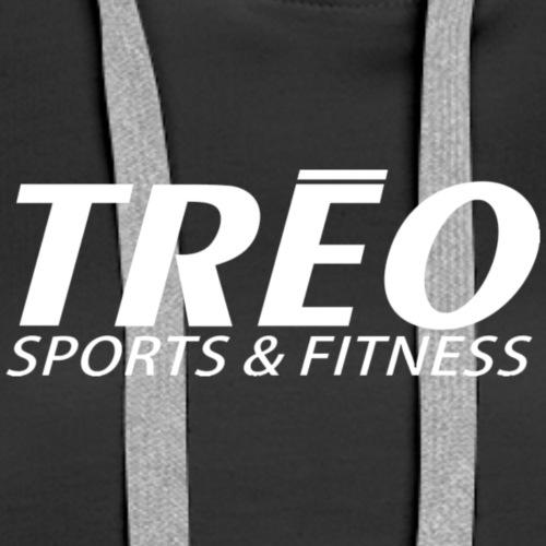 treo logo white transparent - Women's Premium Hoodie