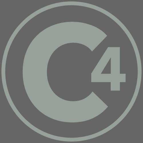C4 Signature Logo - Women's Premium Hoodie