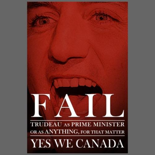Justin Trudeau FAIL - Women's Premium Hoodie