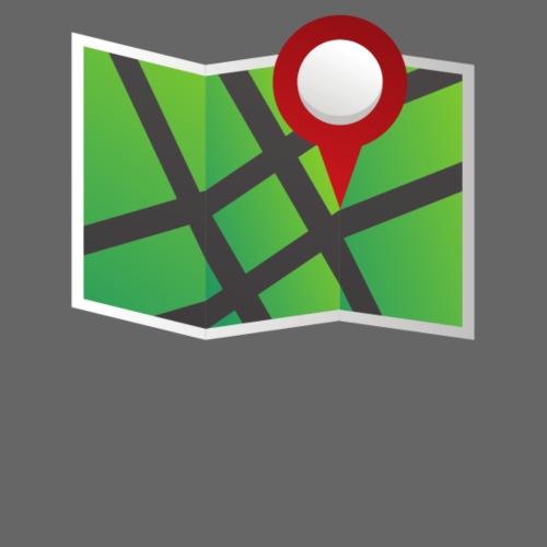 Green map fold - Women's Premium Hoodie