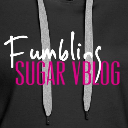 Fumbling Sugar - Women's Premium Hoodie