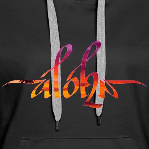 Aloha Sunset - Women's Premium Hoodie