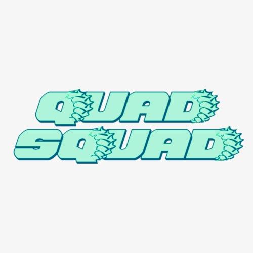 Quad Squad Teal - Women's Premium Hoodie