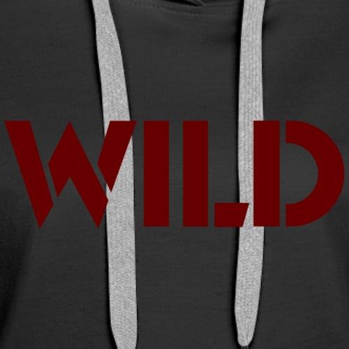 Wild - Women's Premium Hoodie
