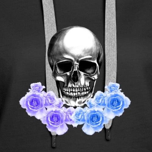 Skulls and Roses *CUSTOM DESIGN* - Women's Premium Hoodie