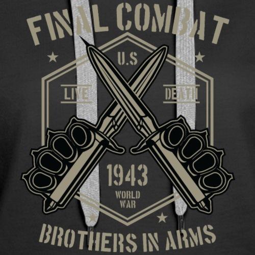 final combat - Women's Premium Hoodie