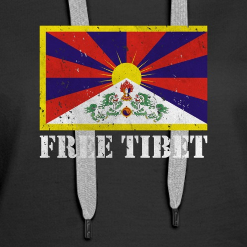 Free Tibet - Tibetan Flag