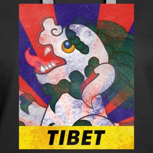 Free Tibet Snow Lion Graphic - Women's Premium Hoodie