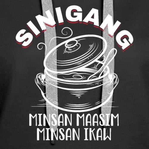 Funny Sinigang Filipino Shirt - Women's Premium Hoodie