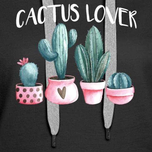 Funny Cactus Shirt for Cactus Lover - Women's Premium Hoodie