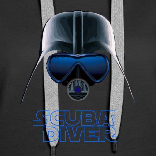Dark Vader Scuba - Women's Premium Hoodie
