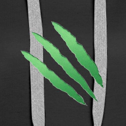 Green Scratch - Women's Premium Hoodie