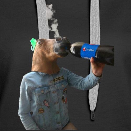 Pepsi Horse - Women's Premium Hoodie