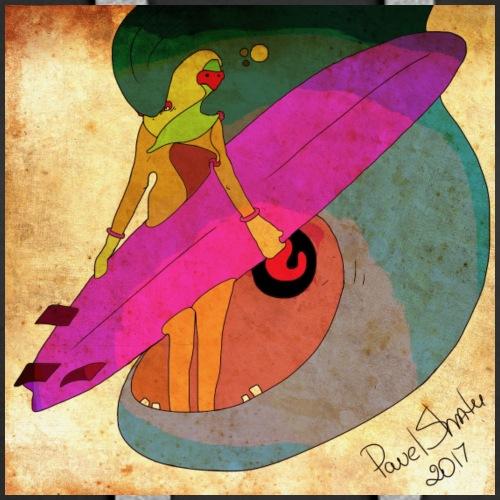Surfer - Women's Premium Hoodie