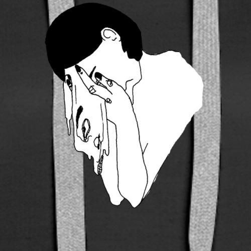 Tumblr Girl - Women's Premium Hoodie