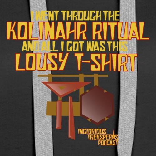 KolinahrTshirt - Women's Premium Hoodie