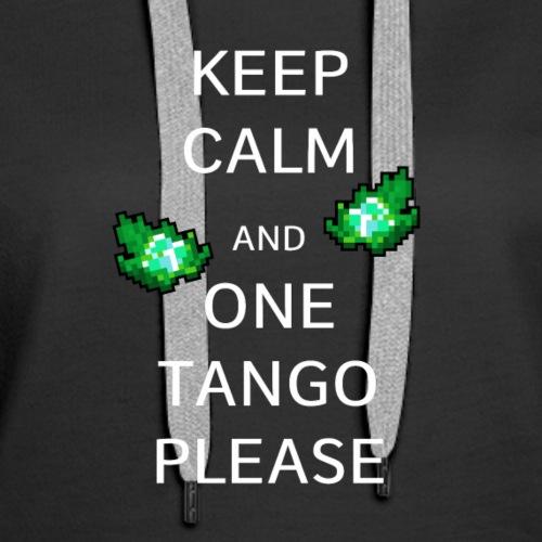 ONE TANGO PLS!!11! - Women's Premium Hoodie
