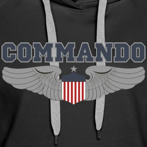 Commando - Women's Premium Hoodie