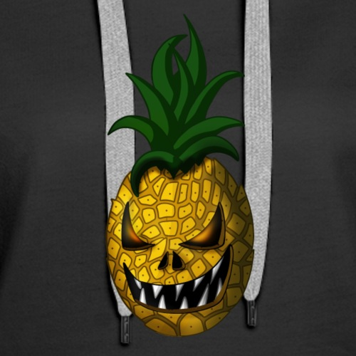 Creepy Halloween Pineapple