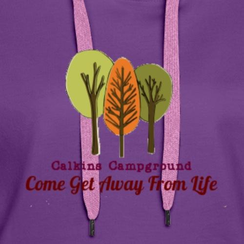 Calkins Campground - Women's Premium Hoodie
