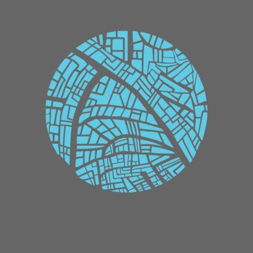 City circle map - Women's Premium Hoodie