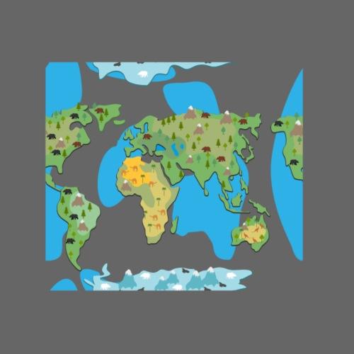 Animated Earth - Women's Premium Hoodie