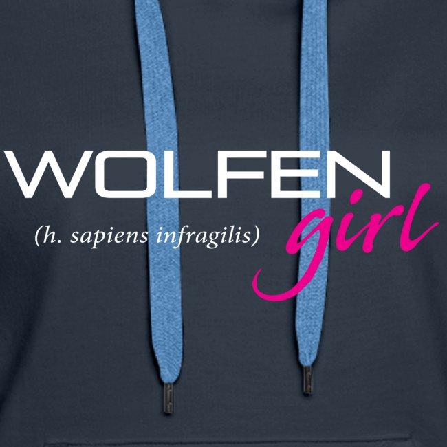 Wolfen Girl on Dark