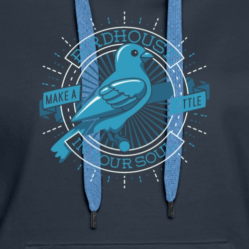 birdhouse in your soul they might be giant tmbg - Women's Premium Hoodie