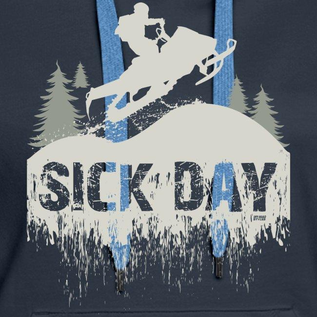Snowmobile Sick Day