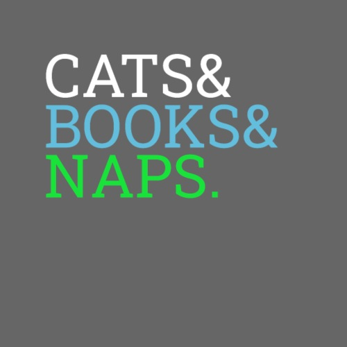 Cats and books and naps - Women's Premium Hoodie