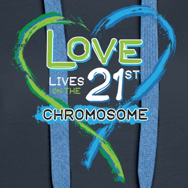 Down Syndrome Love (Blue/White)