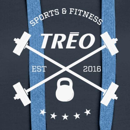 treo crossed barbells - Women's Premium Hoodie