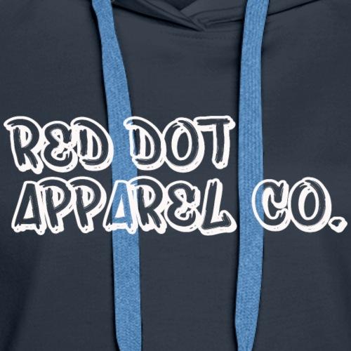 RED DOT APPAREL Hipster Mech Mod Logo - Women's Premium Hoodie