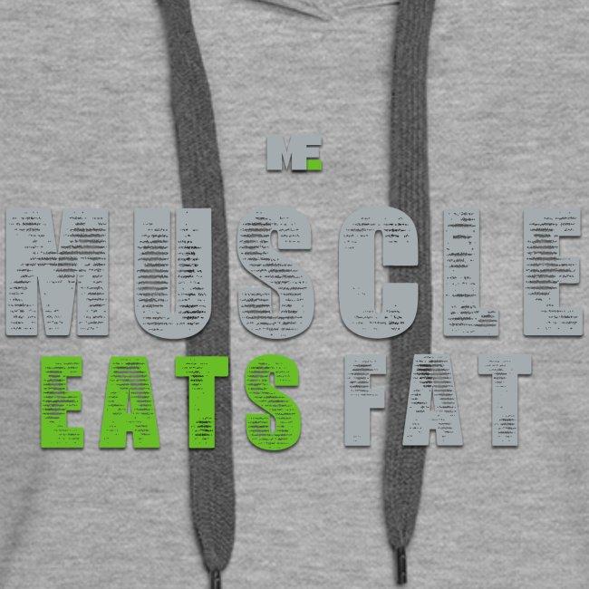 Muscle Eats Fat (Seahawks Gray)