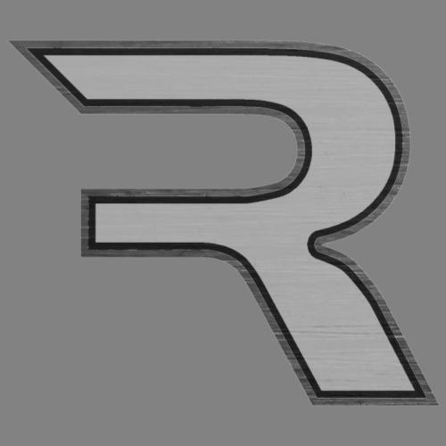 R Grayscale - Women's Premium Hoodie