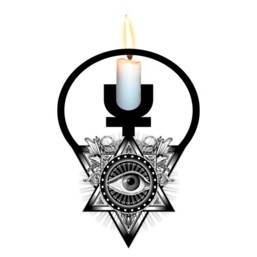 LIGHT UP Illuminati - Women's Premium Hoodie