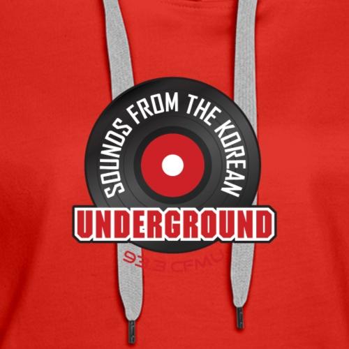 Sounds from the Korean Underground - Women's Premium Hoodie