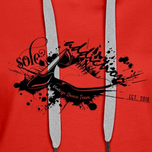 Sole Addiction Swag Regular / Black Logo - Women's Premium Hoodie