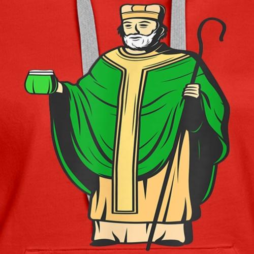 Saint Patrick Apostle of Ireland - St Patricks Day - Women's Premium Hoodie
