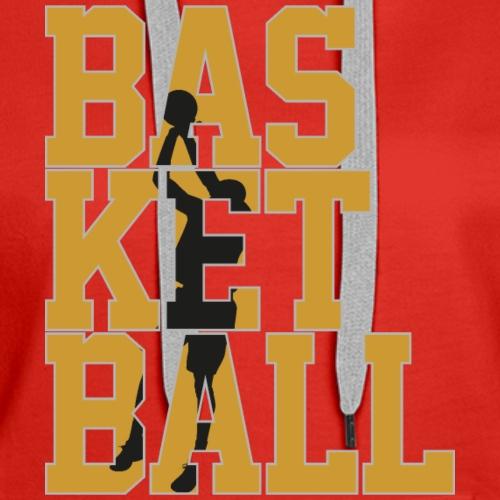 Basketball 100xyz - Women's Premium Hoodie