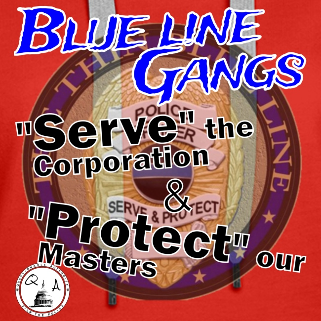 Thin Blue Line - To Serve and Protect