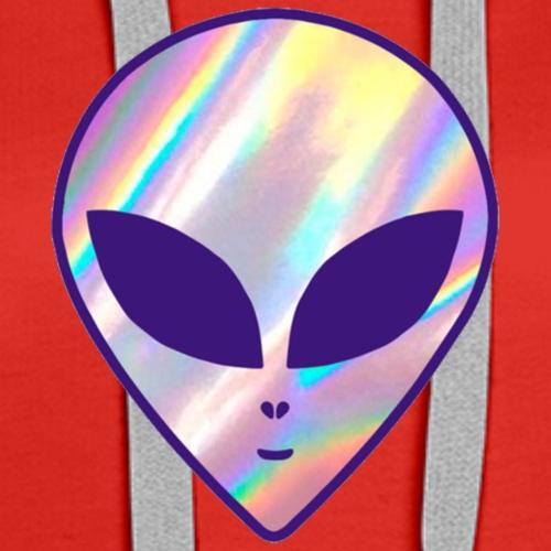 Hologram Alien - Women's Premium Hoodie
