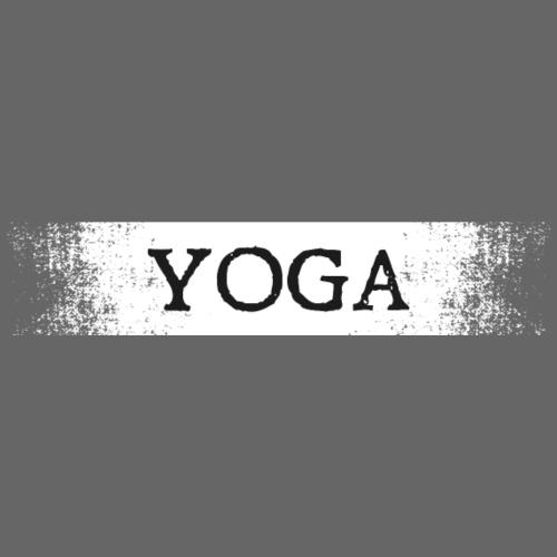 yoga distressed white - Women's Premium Hoodie