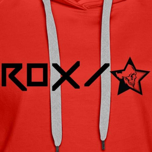 Rox Star Skullstar - Women's Premium Hoodie