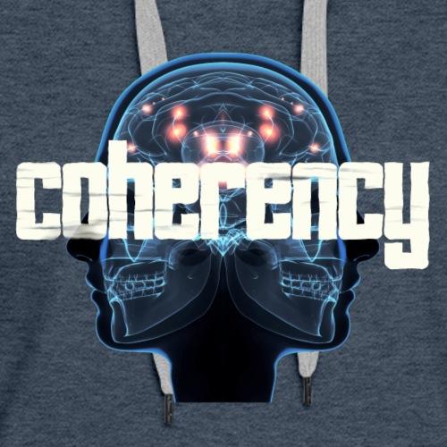 Coherency Skulls - Women's Premium Hoodie