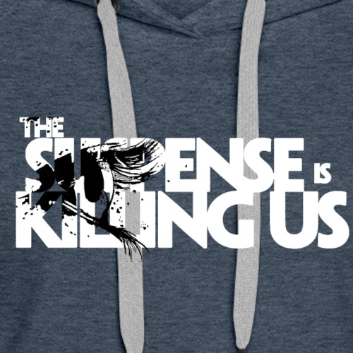 Suspense Is Killing Us Black Eye Logo - Women's Premium Hoodie
