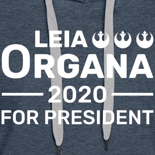Leia Organa For President 2020 - Women's Premium Hoodie