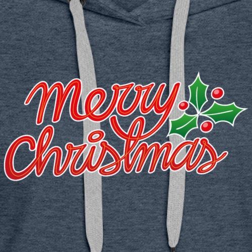 Merry Christmas, best wishes, season's greetings! - Women's Premium Hoodie