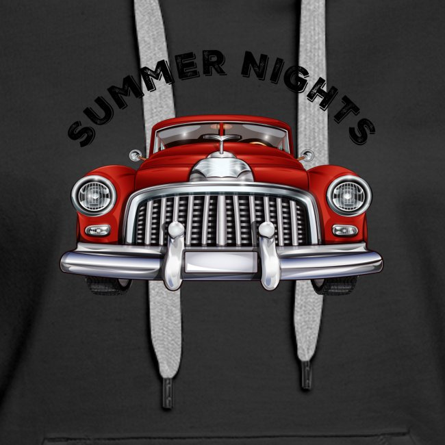 car show summer nights Design