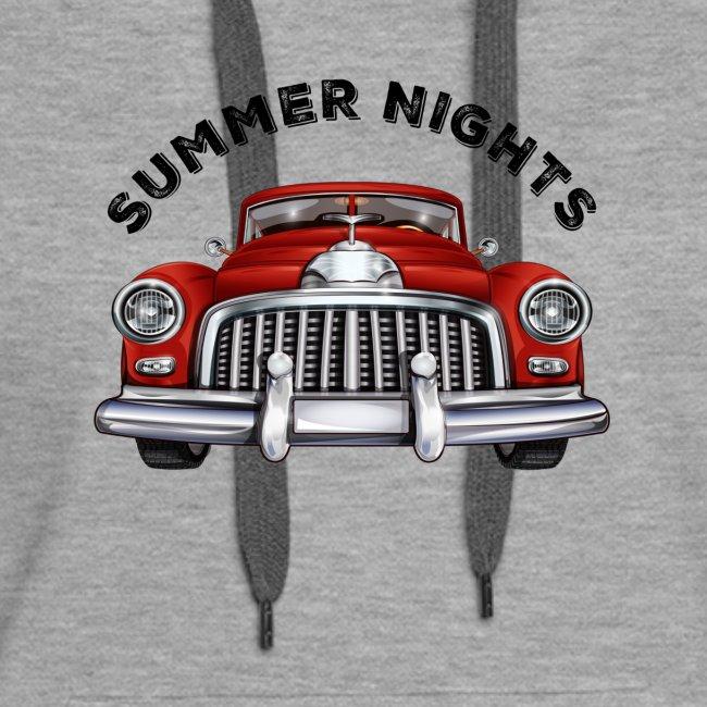 car show summer nights Design